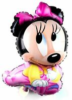XL Minnie Mouse Helium Foil Balloons Baby Disney Mickey Birthday Balloon