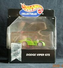 Hot Wheels BLACK BOX DODGE VIPER GTS in Black - NEW in BOX - Serial # B9712
