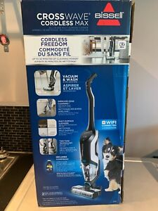 BISSELL CrossWave Cordless Max Multi-Surface Wet Dry Vacuum Cleaner Brand New