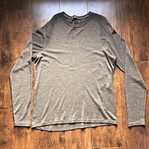 Smartwool Merino Wool 250 Base Layer Crew Top Shirt Mens Size Large XXL Brown