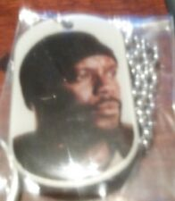 The Walking Dead Dog Tag Season 4 Tyreese #8 of 36 (litho) with Sticker #7 (3D)