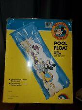 "Mickey MOUSE☆WALT DISNEY CO☆Vintage Pool FLOAT 30X72"""