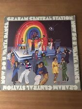 GRAHAM CENTRAL STATION - NOW DO U WANTA DANCE - WARNER BROTHER RECORDS - BS 3041