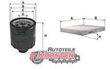 Set S: Innenraumfilter+Ölfilter Inspektionsset SEAT SKODA VW AUDI