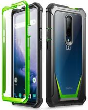 OnePlus 7 Pro / 1+7 Case,Poetic Hybrid Armor Shockproof Bumper Cover Green