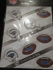NFL CAROLINA PANTHERS CHOCOLATE MOLD gelatin ice cubes candy football molds