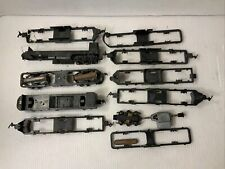 C124- Mixed Lots Of Ho Scale Revell And Marx Locomotive Chassis