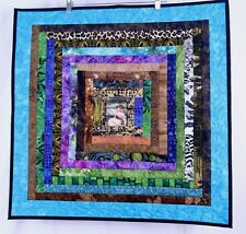 Handmade Quilt Wall Hanging Small Girl Painting Wanda E Tamasy Signed Dated