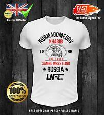 Khabib Nurmagomedov T shirt THE EAGLE Top MMA UFC Unisex MENS WOMENS Top 1
