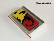 """Cover Abarth """"giallo rosso scorpione"""" per Iphone 6"""