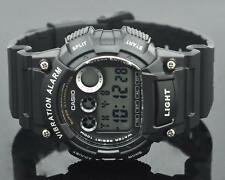 Casio Super Illuminator white&black watch montre chrono diver plongeé g shock WR