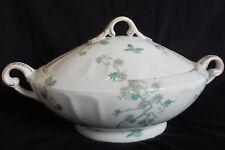 A/ Porcelaine de LIMOGES CH. FIELD HAVILAND : Soupière ovale