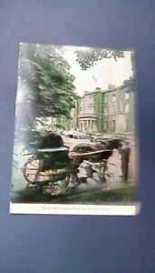 1970 Great Southern Hotel, Killarny, Ireland Postcard w Eight Cancelled Stamps