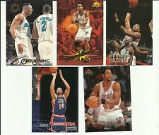 ALONZO MOURNING LOT OF 5 DIFFERENT CARDS MIAMI HEAT
