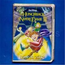 HUNCHBACK NOTRE DAME 2 DVD CASE PIN Movie Poster 12 Months OF MAGIC DISNEY 10868