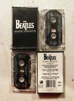 Cassette: The Beatles: Past Masters Volumes 1 & 2: greatest hits best of