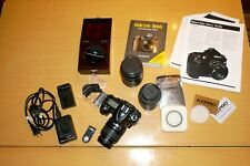 Nikon D90, Three Lenses, HiDef Macro, Remote, Chargers, Guides,