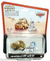 New Disney Parks Star Wars Weekends Pixar Cars LUIGI as C 3PO & GUIDO as R2 D2