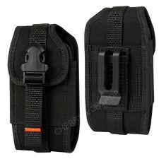 REIKO Vertical Heavy Duty Rugged Belt Clip Loops Case Pouch for Alcatel PHONES Tru 5065n