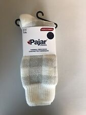 Pajar Canada White Gray Thermal Crew Socks Womens Size 9-11