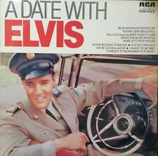 ELVIS PRESLEY A Date With Elvis Vinyl Lp Record Rare Aus Press VNL1-7391