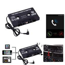 Audio AUX Auto Kassetten Klebeband Adapter Konverter 3.5mm Telefon MP3 CD NEU~