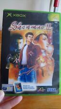 Rare Shenmue 2 Xbox Original Video Game Signed By Eric Kelso