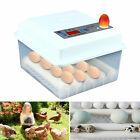 16 Egg Incubator Automatic Turning Temperature Control Hatcher Machine 60W