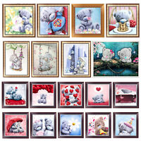 5D DIY Cute Bear Series Diamond Painting Embroidery Cross Stitch Kits Craft Gift
