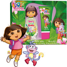 DORA THE EXPLORER FRAGRANZA PER BAMBINI KIT REGALO EAU DE TOILETTE + SHOWER GEL