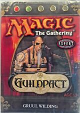 Magic The Gathering MTG Guildpact Gruul Wilding Theme Deck