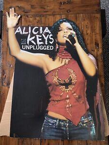 Alicia Keys Unplugged Cardboard Cut Out