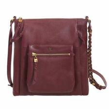 NEW Women's Elliott Lucca Gwen Flat Leather Crossbody Pocketbook - Free Shipping