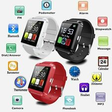 Bluetooth Smartwatch Armbanduhr Handy Mate für IOS Android Samsung HTC LG Sport