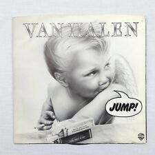 "VAN HALEN Jump and House of Pain 1983 7"" Record 45 RMP 1980s Hair Heavy Metal"