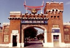 HMS VERNON IN YEARS GONE BY - 14 PHOTOGRAPHS - ROYAL NAVY