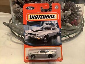 matchbox superfast 1970 Ford Capri