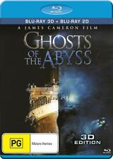 GHOSTS OF THE ABYSS (3-D and 2D versions)  -  Blu Ray - Sealed Region B