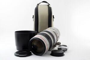 Canon EF 100-400mm f/4.5-5.6 L IS USM Lens [Exc w/Hood,Case From Japan [jkh]