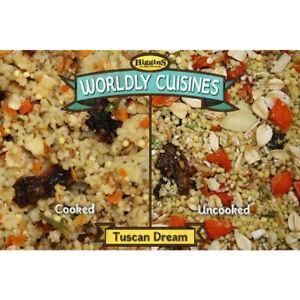 Higgins Worldly Cuisine TUSCAN DREAM Bird Food 13 Ounce Parrot Parakeet Finch