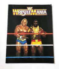 WWF WrestleMania Official Souvenir Program Magazine March 1985 Hulk Hogan & MR.T
