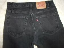 Levi's 505 W 32 L 32 black reg fit blue jeans