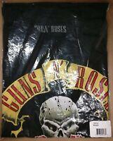 Guns N Roses Shirt Skull and Dagger Band Officially Licensed Mens Small-XL