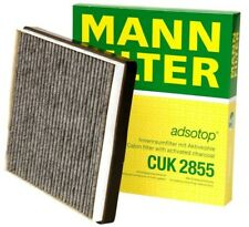 NEW For Volvo S60 S80 V70 XC70 Cabin Air Filter Charcoal Activated Mann CUK 2855