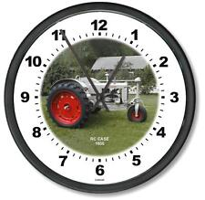 """New 1935 Rc Case Tractor Wall Clock 10"""" Round Years 1935"""