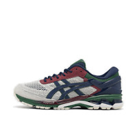 Men's Asics GEL-Kayano 26 Running Shoes Birch/Blue Expanse 1021A272 201