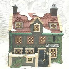 Department 56 Heritage Collection Dickens Village,Dedlock Arms, 3rd.Edition 1994