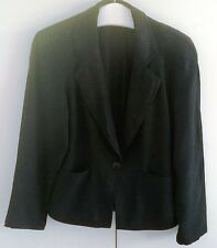 Betty Barclay Jacke Kostüm Jacket Gr. 36 Blazer schwarz  - TOP Zustand -