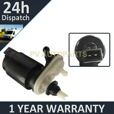 FOR VAUXHALL OPEL CORSA C 2000-06 FRONT & REAR TWO OUTLET WINDOW WASHER PUMP