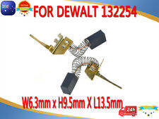 Carbon Brushes For Dewalt B&D Black Decker 132254-07 BV1000 1703 Vacuum Mulch